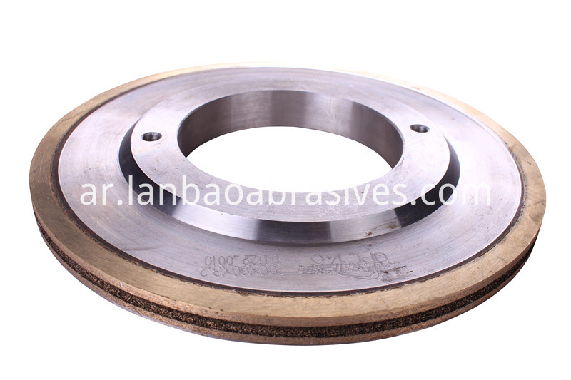 grinding wheel for solar glass detail