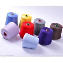 Fil mélangé réutilisé de polyester de bout ouvert de fabricants pour le fil à tricoter