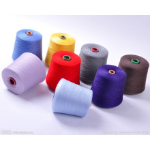 Recycled Manufacturers Open End Blended Polyester Yarn for Knitting Yarn