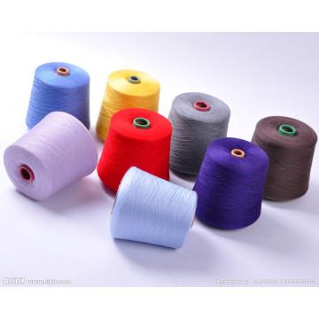 100% Baumwolle gekleidetes Garn Ne32 / 1 zum Weben und Stricken