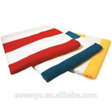 100% Baumwolle gestreift Badetücher Pool Strandtücher BtT-206 China-Lieferant
