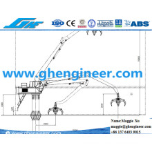 Steel Slag Clinker Scrap Loading Crane