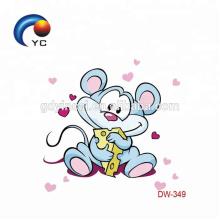 Preço competitivo dos desenhos animados CMYK crianças tatuagem adesivos do fabricante