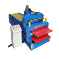 Roofing Panel Sheet Double Deck Roll Forming Machine