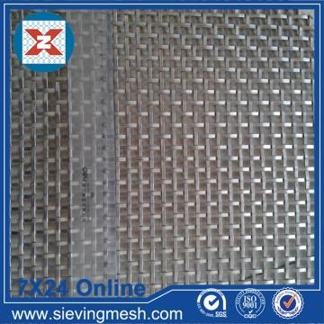 Rete metallica tessuta in alluminio