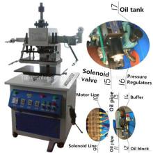 Tam-320-H Pneumatische Hydraulische Druck Leder Kunststoff Gummi Holz Präge Beschichtung Heißprägen Maschine