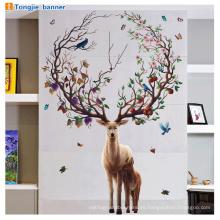 Papel pintado adhesivo barato al por mayor decoración del hogar interior