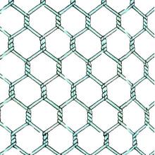 Cheap Electro galvanizado hexagonal malla de alambre