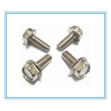 Stainless Steel Hex Flange Bolt (DIN6921)
