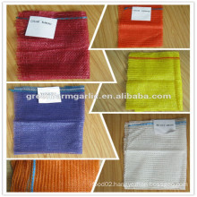 china PE raschel mesh net bag