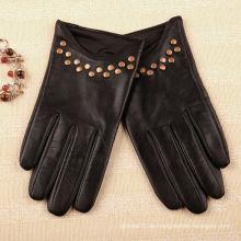 Frauen schwarz Stil Handschuhe Markt online
