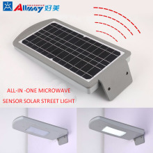 All-in-one LED Solar Czujnik mikrofalowy Street Light