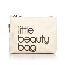 Mujer cosméticos herramienta Nylon Gridding Rectángulo Maquillaje caso Little Beauty Bag con cierre de cremallera