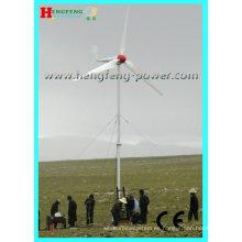 Venta caliente y suficiente potencia nominal 10KW grid tie aerogenerador