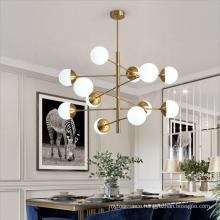 Contemporary glass bubble pendant lighting