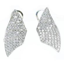 Pendiente de plata de la joyería 925 de la alta calidad y de la manera de la mujer (E6471)