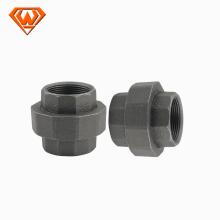 conector galvanizado de uniones de tubería de hierro fundido maleable