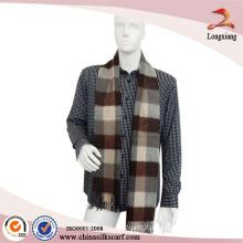 Klassische Männer Pashmina Schal Blanket Thick Kaschmir Tartan Plaid Schal