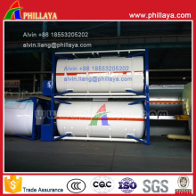 20FT Carbon Steel Pressure ISO Tank Container for LPG/LNG