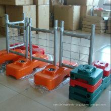 Plastic Concrete Temporary Fencing Feet