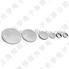 Flat-convex silicon lens convex lens