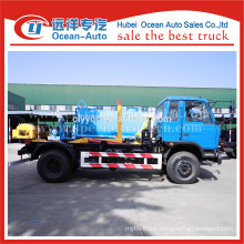 DONGFENG fuel type new condition detachable container for garbage truck