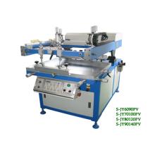 Slant-arm silk screen printing machine