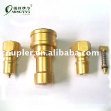 Quick connecting best quality cheap garden hose brass fitting
