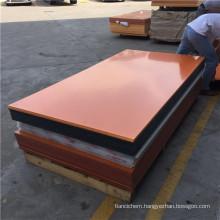 Orange Black Bakelite Paper Sheet