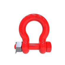 Bolt Type Alloy Bow Shackle/ G8 Bow Shackle/bolt shackle