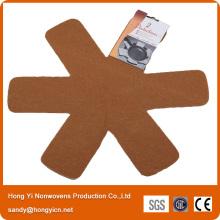 Home Application 100%Polyester Nonwoven Fabric Pot&Pan Protector