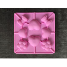 Herramienta del caramelo de la historieta del molde del chocolate de la piruleta de la categoría alimenticia