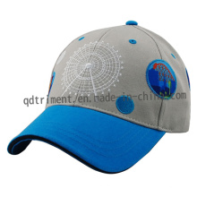Sublimation Print Embroidery Cotton Twill Sport Baseball Cap (TMB0815)