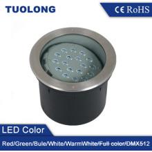 Nuevo LED ajustable empotrable en la luz 36W LED subterráneo ajustable en caliente Blanco cálido RGB Opcional