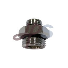 acoplamento métrico da mangueira de ar de bronze niquelado com anel-O