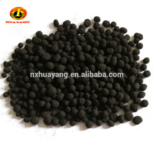 Spherical 3 mm diameter activated carbon coal based for air purification