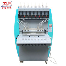 China for PVC Cup Coaster Dispensing Machine 8-color Automatic Machine To Make Keychain supply to Poland Manufacturer