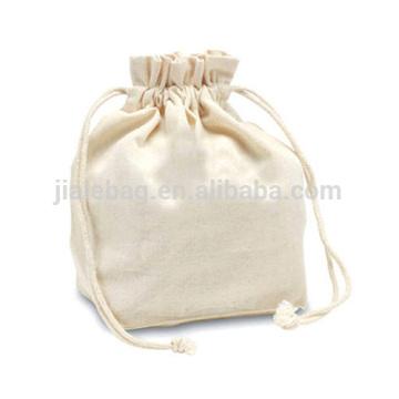 Wholesale 100% umweltfreundliche Leinwand Baumwolle Kordelzug