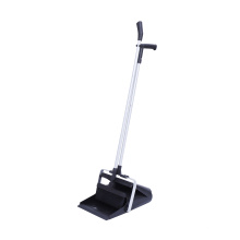 Factory selling plastic long handle broom and dustpan set for cleaning