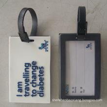 .Custom - made luggage tag