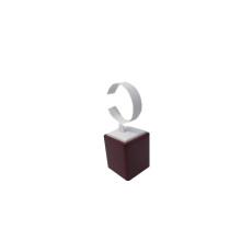 Uhrenständer mit lackiertem Kunstleder C-Form (WS-WR-1)
