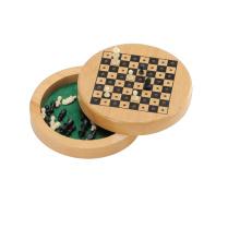 Tablero de ajedrez del juego de madera (CB1038)