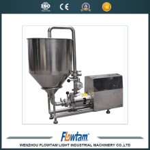 China supplier high viscosity electric liquid transfer pump,inline high shear mixer