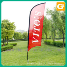 Bandera de arco de promoción al aire libre