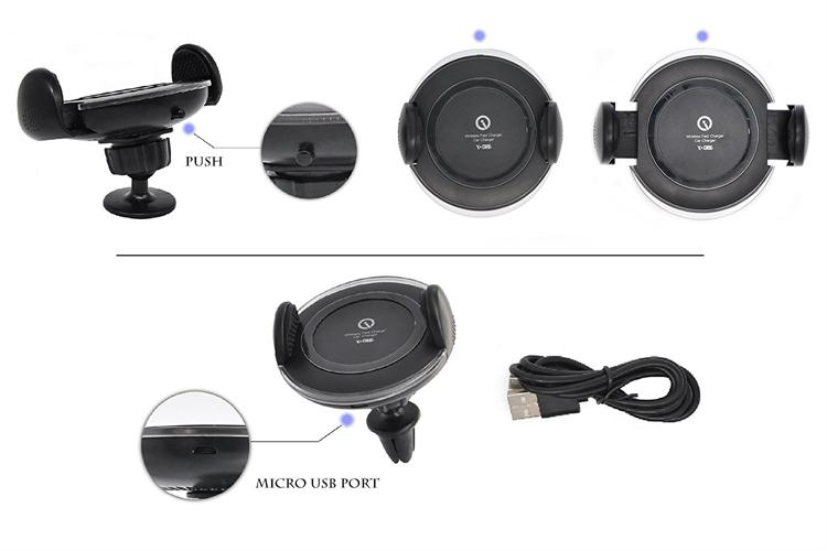 Wireless Quick Charging Mobile Chargers