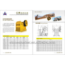 jaw crusher used in sand making and stone production line