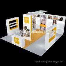 Detian Offer expositor modular duradero de aluminio 20X20ft para exposición
