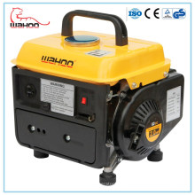 Generador de gasolina portátil de 650 W, generador de gasolina de 950 cc