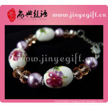Shandian Handmade Ceramic Craft Classic Statement Bracelet