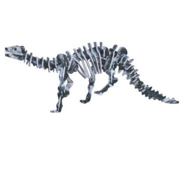 Dinossauro de brinquedo quebra cabeça